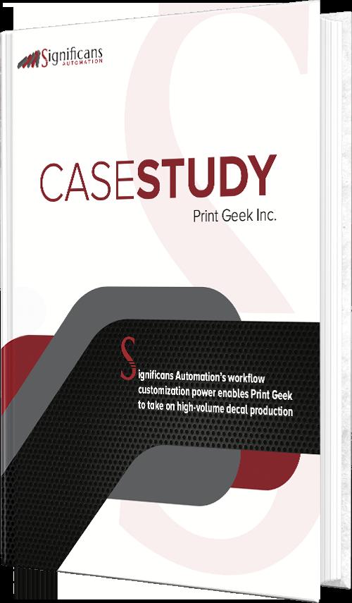 case study book print geek